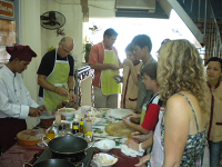 Saigon Cooking tour - Cyclo ride, Market tour, Cooking class